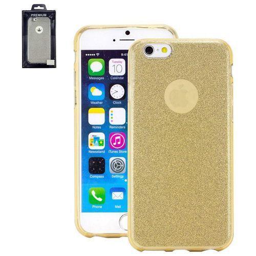 Pokrowiec na tył iPhone Perlecom 4260481642533, Pasuje do modelu telefonu: Apple iPhone 7, złoty (4260481642533)