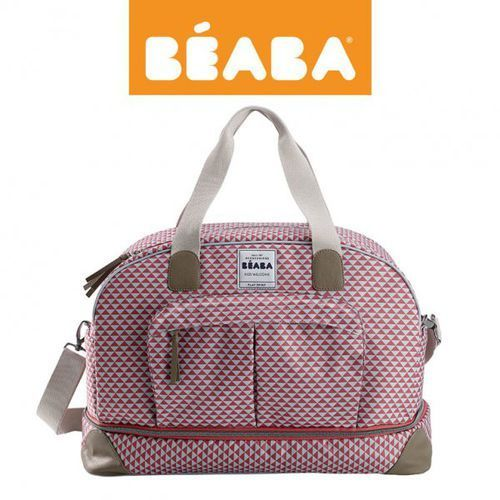 torba dla mamy duża amsterdam play print marsala marki Beaba