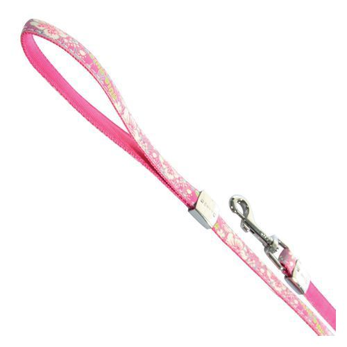 Zolux smycz envy hula reflect 15mm/120cm różowa [466265rs]