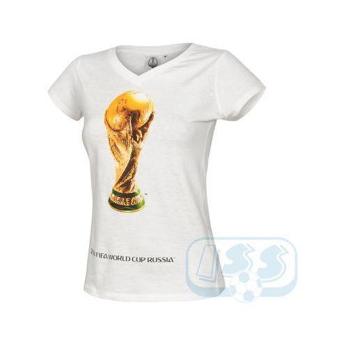 World cup 2018 Dwcr46w: mistrzostwa świata rosja - t-shirt damski