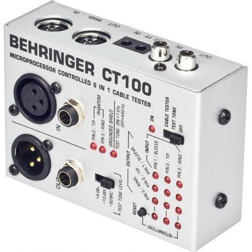 Behringer ct100 - tester kabli (4033653100151)