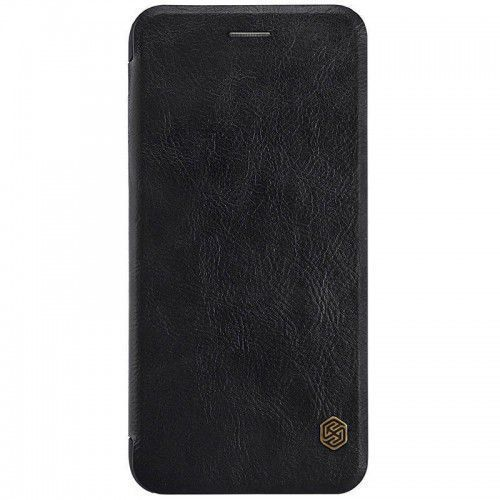 Etui kabura Nillkin Qin Case iPhone 7 Plus Black, kolor czarny