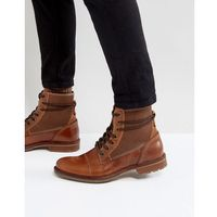 ALDO Gweawien Leather Lace Up Boots In Tan - Tan