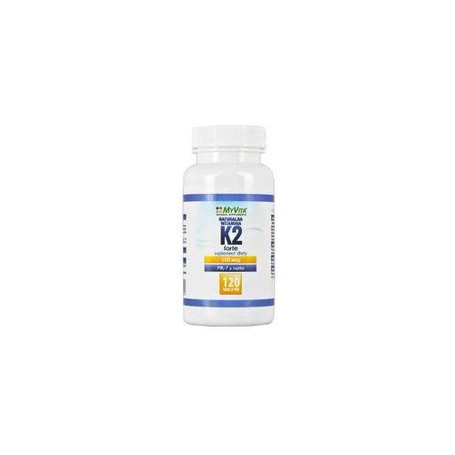 Naturalna witamina k2 mk-7 100mcg 120 tabletek marki Myvita
