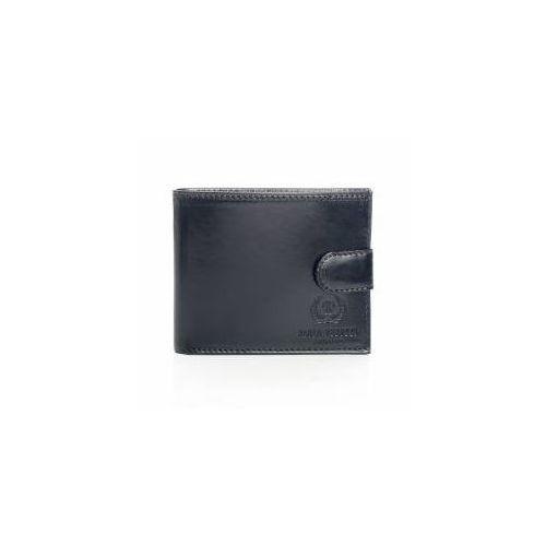 26c429ad2f162 Skórzany damski portfel męski paolo peruzzi 018pp czarny