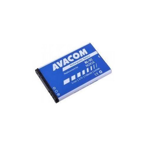 Bateria do telefonu  dla nokia 6230, n70, li-ion 3,7v 1100mah marki Avacom