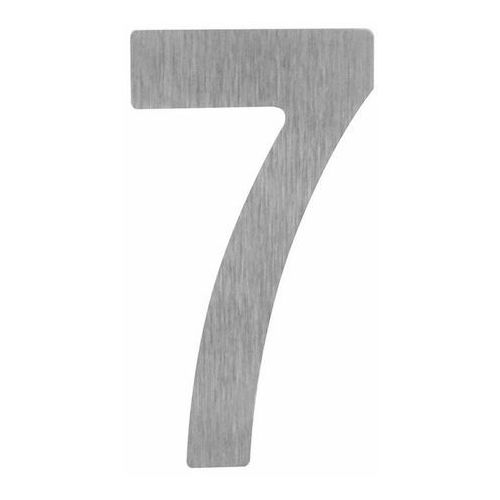 Cyfra 18 cm 7 srebrna