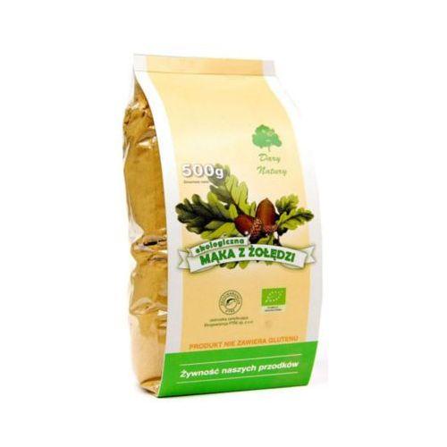 500g mąka z żołędzi bezglutenowa bio marki Dary natury