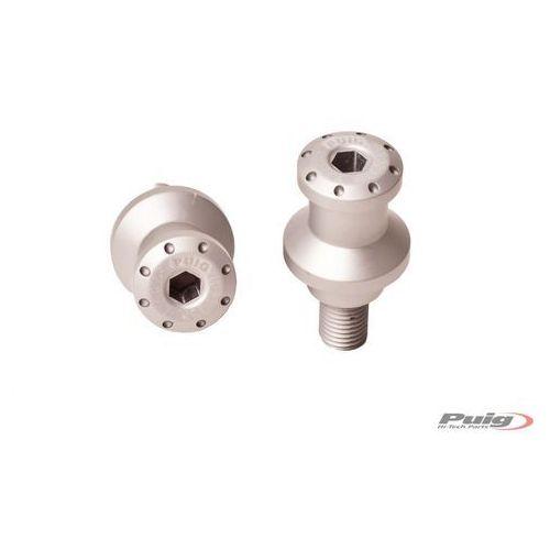 Uchwyty PUIG do podnośników do BMW / Ducati / Honda / Suzuki (srebrne)