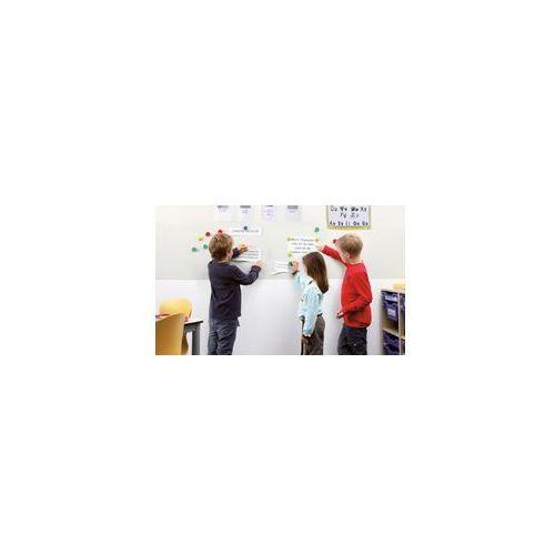 Ściana magnetyczna natynkowa biała 2 m2 8 płyt (4013695010502)