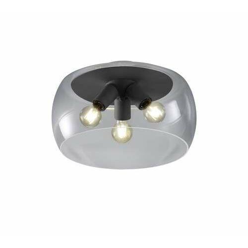 Trio valente 600600342 plafon lampa sufitowa 3x60w e27 antracytowy/dymiony