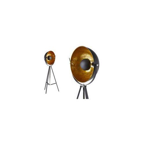 Lampa MOVIE - wys. 166 cm - Srebrne wnętrze i czarny wierzch marki INSIDE ART