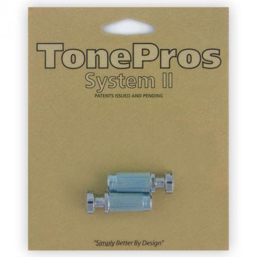 TonePros VCS1-C - G-Style Locking Studs, części mostka do gitary, chromowane