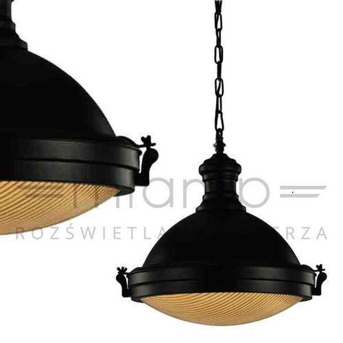 Orlicki design Industrialna lampa wisząca lente metalowa oprawa zwis na łańcuchu ciemny brąz (1000000280401)