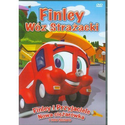 Finley wóz strażacki finley i przyjaciele nowa ciężarówka marki Cass film