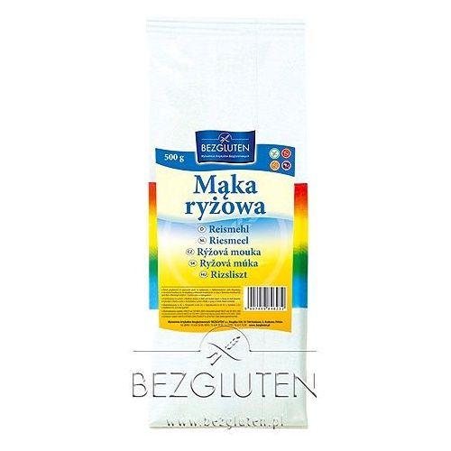 Mąka ryżowa owa - 500g marki Bezgluten