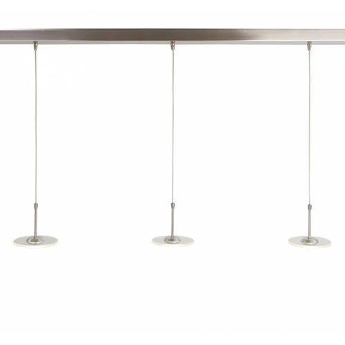 Steinhauer santander led lampa wisząca stal nierdzewna, 3-punktowe - nowoczesny - obszar wewnętrzny - santander - czas dostawy: od 10-14 dni roboczych (8712746095326)
