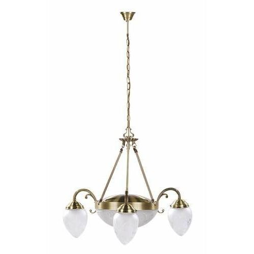 Lampa wisząca zwis annabella 3x40w e14 + 2x60w e27 brąz 8633 marki Rabalux