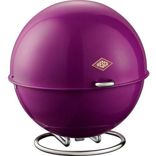 Wesco Okrągły pojemnik na pieczywo fioletowy superball (223101-36)