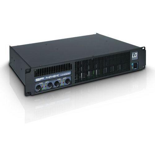 sp 44k końcówka mocy pa 4 x 980 w, 2ohm marki Ld systems