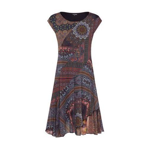 Desigual Letnia sukienka 'VEST_GAELLE' mieszane kolory / czarny, kolor czarny
