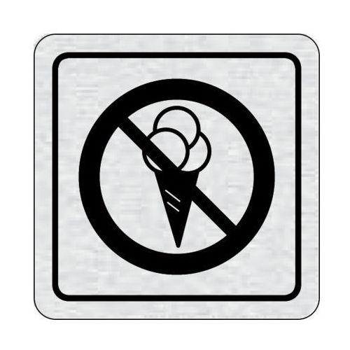 Tabliczka na drzwi -zakaz wejścia z lodami ii marki B2b partner