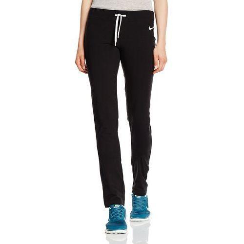damskie spodnie treningowe długie jersey oh, czarny, m marki Nike