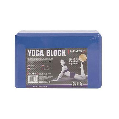 Hms Blok do uprawiania jogi kj01 niebieski (5907695530384)