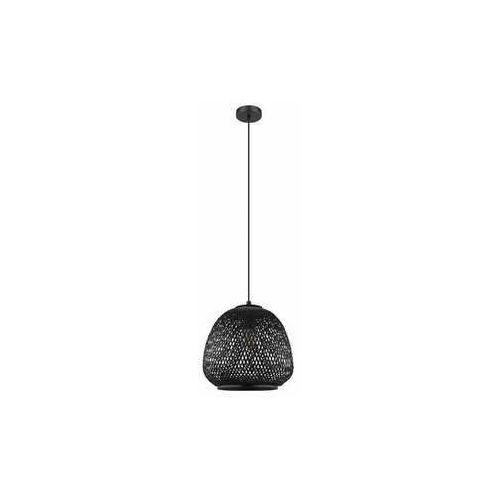 Eglo Dembleby 43265 lampa wisząca zwis 1x40W E27 czarna