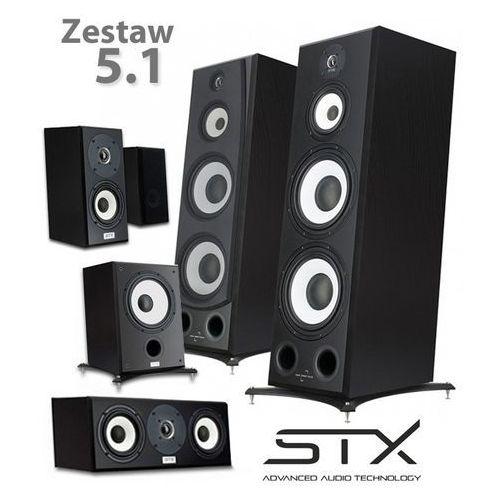 Zestaw kolumn kina domowego STX Electrino - 5.1 v2 (5902633884918)