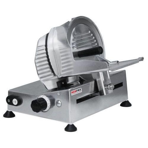 Krajalnica - nóż gładki, 0,15 kW, 370x460x320 mm   REDFOX, GS-220N