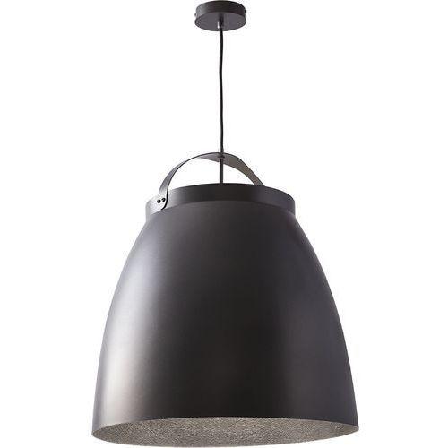 Lampa wisząca neva l srebrna metalowa duża marki Sigma