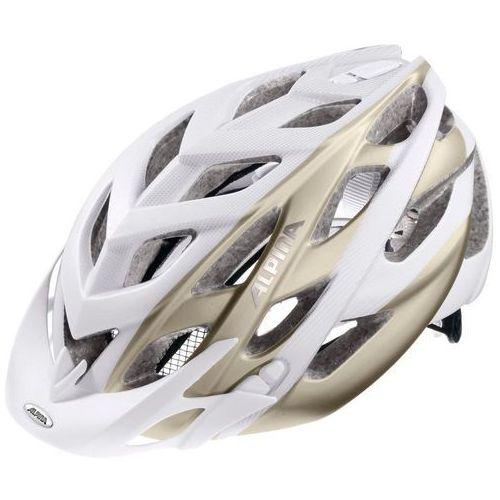 Alpina d-alto l.e. kask rowerowy biały 52-57cm 2018 kaski rowerowe (4003692230041)