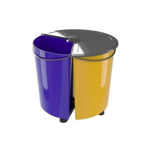 Multim Kosz na śmieci do zbiórki selektywnej ecobin plus (5907690737030)