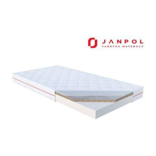 Janpol toni – materac dziecięcy, lateksowy, pokrowiec - puroactive, rozmiar - 80x160 wyprzedaż, wysyłka gratis (5906267404733)