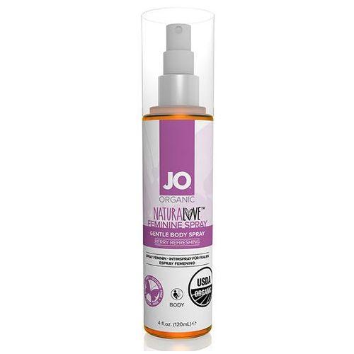 SexShop - Kobiecy spray odświeżający do ciała - System JO Organic Feminine Spray 120 ml - online