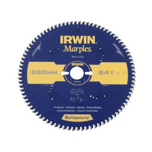 Tarcza do pilarki tarczowej 260mm/84t/30 śr. 260 mm 84 z marki Irwin marples multimaterial