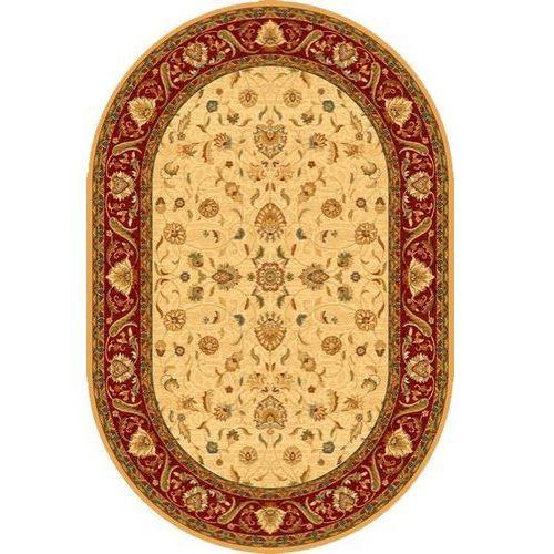 Dywilan Dywan omega aries jasny rubin (owal) 170x235