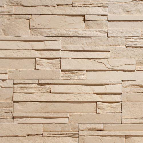 Stegu Kamień dekoracyjny CRETA 1 - Cream 50x20