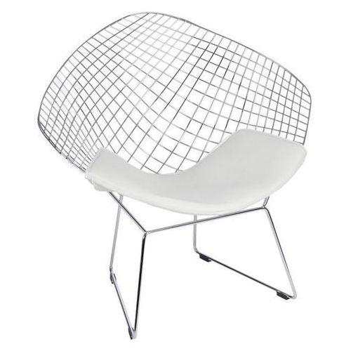 Krzesło harryarm biała poduszka marki Dkwadrat