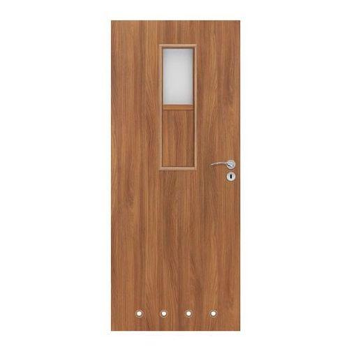 Drzwi z tulejami Olga 80 lewe akacja, S 80L OLGA WC AK