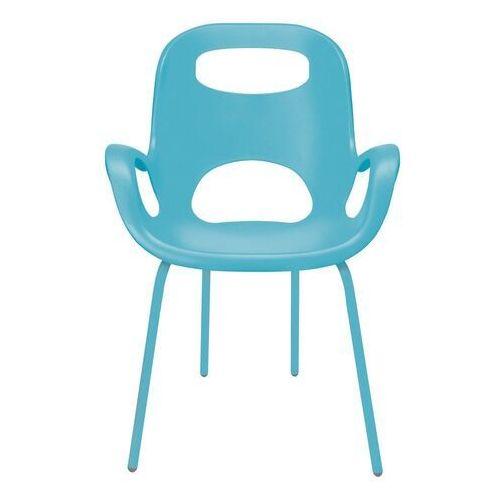 - 2 krzesła oh chair - turkusowe - turkusowy marki Umbra