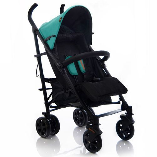 Baninni wózek dziecięcy charisma, czarno-zielony, bnst012-gr