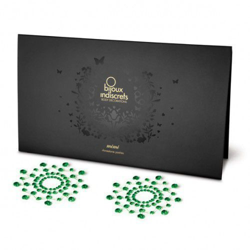 Nakładki na sutki -  emerald szmaragd marki Bijoux indiscrets