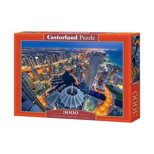 Puzzle 3000 elementów. Towering Dreams, Dubai