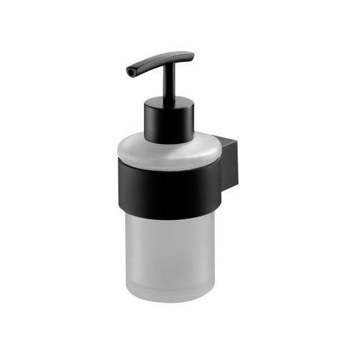 Dozownik mydła Futura black 02953 Bisk (5901487029537)