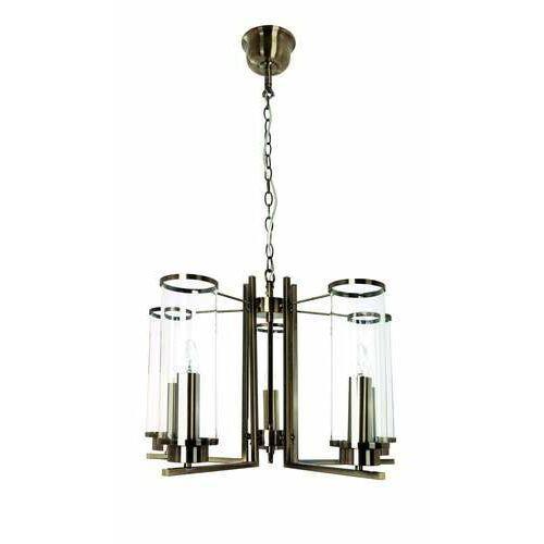 Britop lighting verdi 1136511 lampa wisząca zwis 5x40w e14 patyna