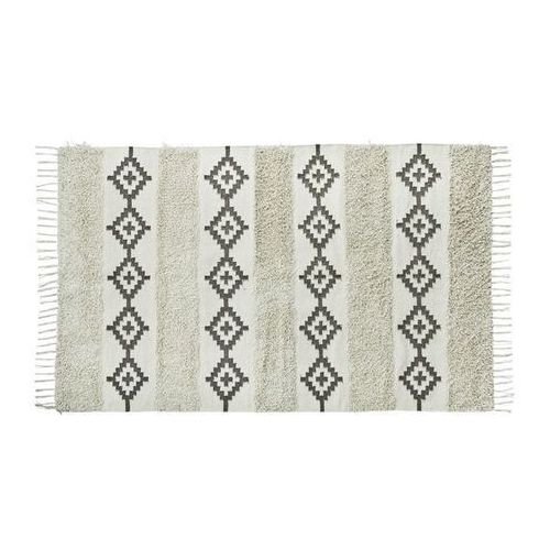Madam Stoltz - Dywan bawełniany z frędzlami