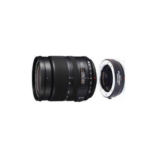 14-50mm 2.8-3.5 obiektyw z adapterem mocowanie micro 4/3 marki Panasonic