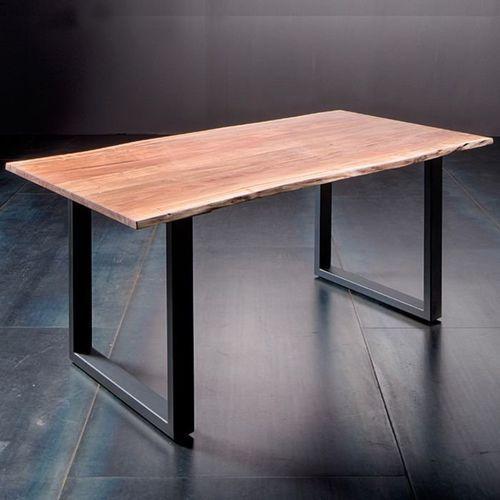 Fato luxmeble Stół catania obrzeża ciosane natur, 200x100 cm grubość 3,5 cm